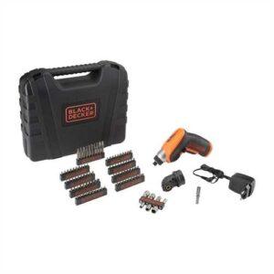 Svitavvita 3.6V Litio in valigetta con testa ad angolo e 98 accessori